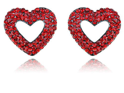12pairs Lot Fashion Love Valentine Day Wedding Party Red Heart