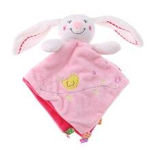 25см Приваблювати рушник Кролик Дитяча плюшеві іграшки-ляльки Дитячий заспокоєння Спокійний ляльок Освіта Дитяче догляду Продукт іграшка для дитячого подарунка
