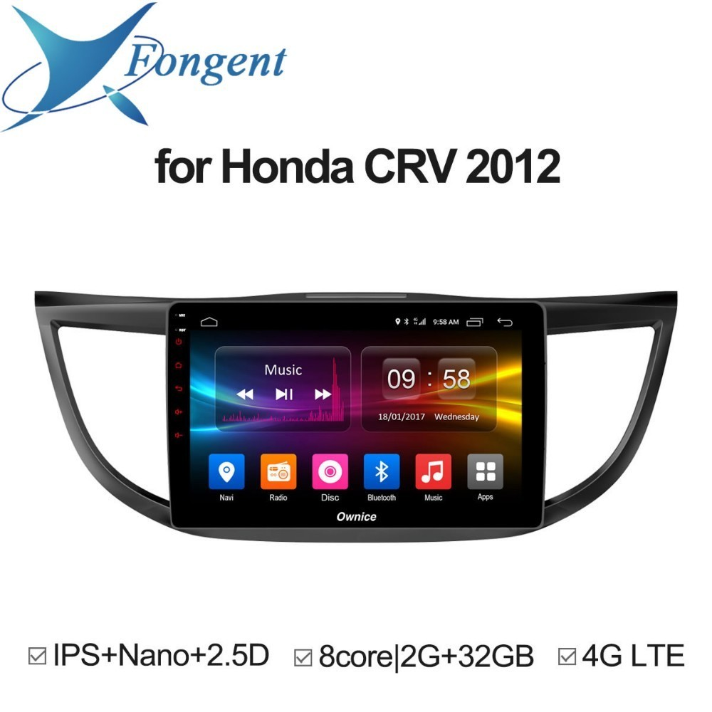 For Honda CRV 2012 2013 2014 2015 2016 Car Android Intelligent Multimedia Radio Player GPS