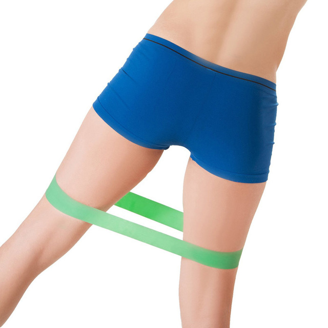 4pcs/set 50cm Elastic Tension Resistance Bands 4 Levels Rubber Loops Bands Yoga Bodybuilding Muscle Fitness Equipment Expander
