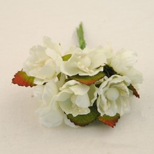3CM,Small Fabric Roses,Artificial Silk Cherry Blossom Bouquet,Diy Craft Wedding Party Decoration Arrangements,Headbands,garland