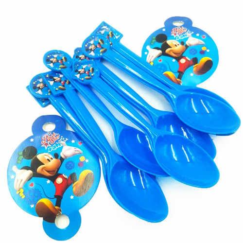 Mickey mouse feliz aniversário decorações de festa crianças placa copo de palha guardanapos sacos de mesa descartáveis chuveiro do bebê evento festa conjunto