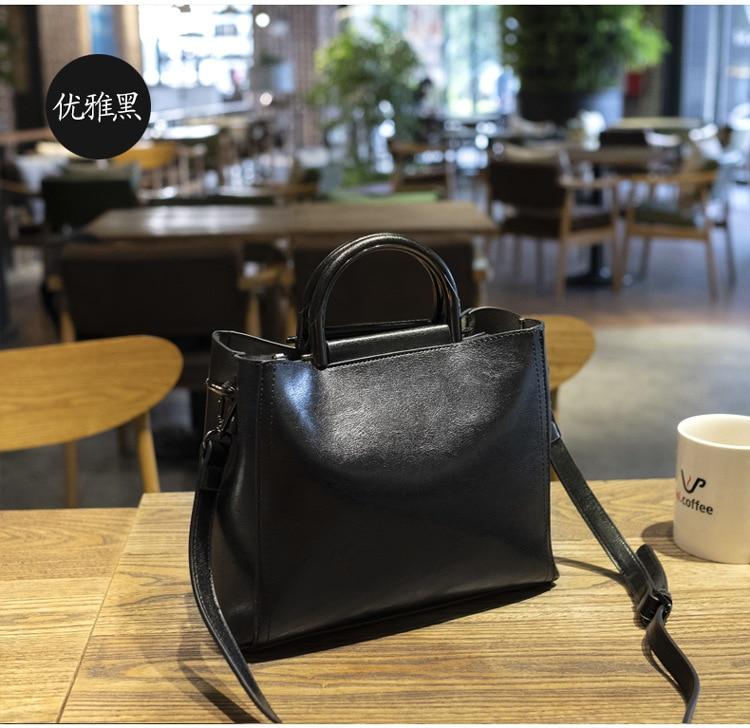 feminino bolsa de couro de alta qualidade