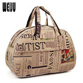 Casual Luggage Travel Bags 2017 Hot Sale Fashion Polyester Large Capacity Women Men Travel Bags Duffle Bags