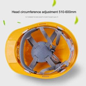Image 3 - Güneş elektrikli fan Kask Açık Çalışma Güvenliği Baret Inşaat Işyeri ABS malzeme koruyucu bone tarafından Desteklenmektedir GÜNEŞ PANELI