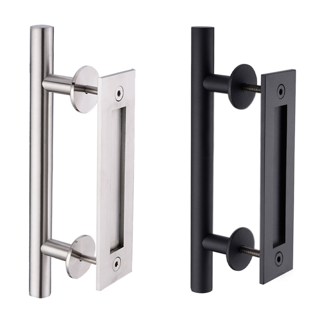 interior door handles for homes 304 stainless steel sliding barn door pull handle wood 24478
