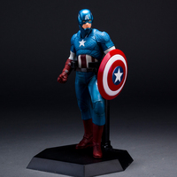 Marvel Avengers Captain America Super heroes Anime Action Figure Shield Model Toy Brinquedos Juguetes Kids Toys For Boys