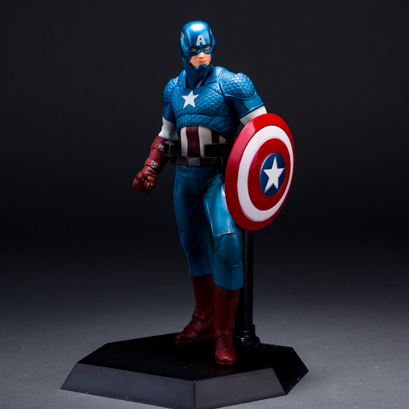 The Avengers Captain America Super heroes Anime Action Figure Shield Model Toy Brinquedos Juguetes Kids Toys For Boys new hot 27cm avengers super hero captain america enhanced version action figure toys doll collection christmas toy with box