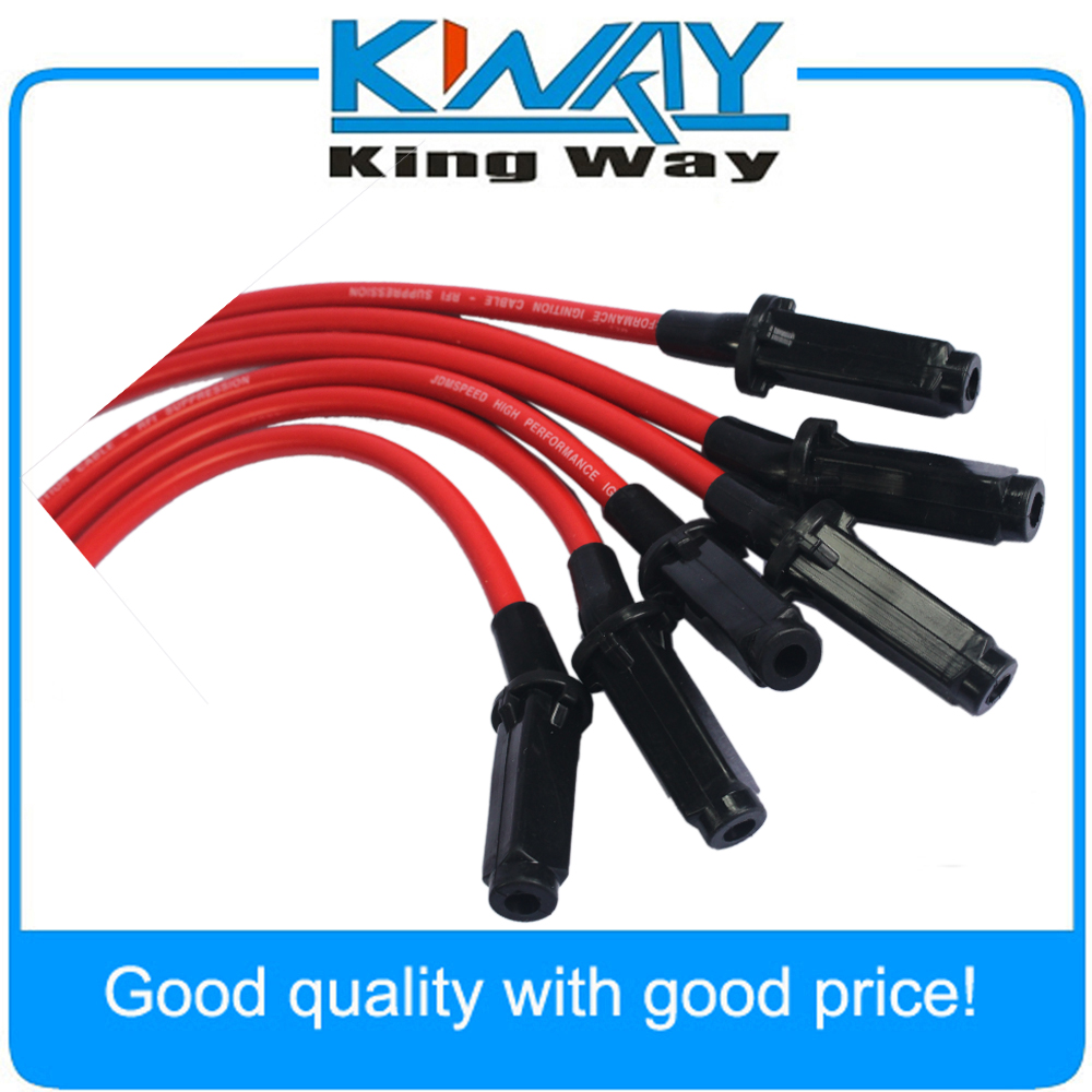 JDMSPEED Hi Performance Red 10.5mm Ignition Spark Plug Wires 3800 Series II L67