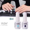 8ml Arte Clavo Choose 1 Color Nail Art Supplies Gel Nail Polish Set Soak Off Nail Gel Colored UV Gel Polish