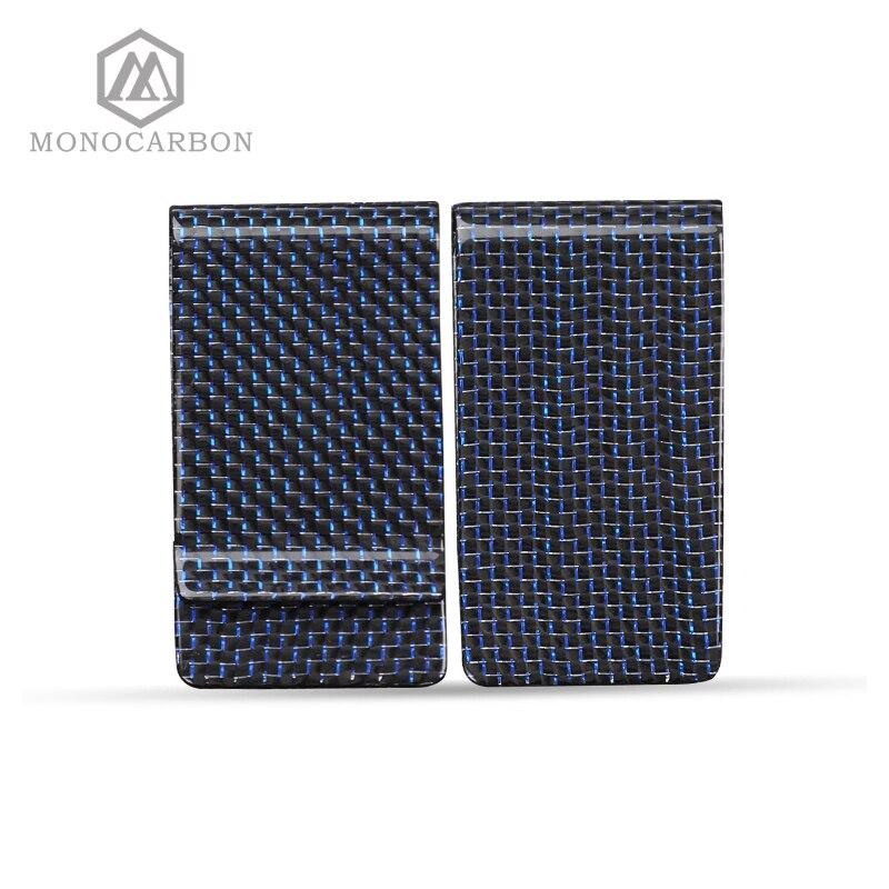 Factory Directly Supply Carbon Fiber Titanium Top Quality Blue Money <font><b>Clip</b></font>,For Blue Carbon Fiber Money <font><b>Clips</b></font>