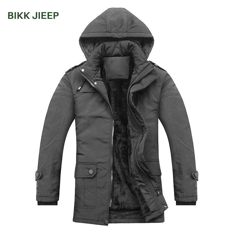 Mens Parkas Winter Jackets Cotton Men Parka Warm Outwear Male Hooded Parkas Men Down Jacket Male Winter Coat Jacket Mens Parka