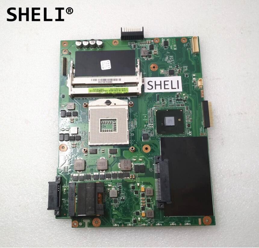 SHELI Pour Asus K52F Carte Mère REV.2.2 DDR3 s989 69N0GTM10E02