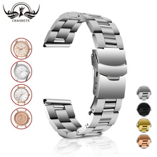 Stainless Steel Watch Band for Fossil 18mm 20mm 22mm 24mm Al