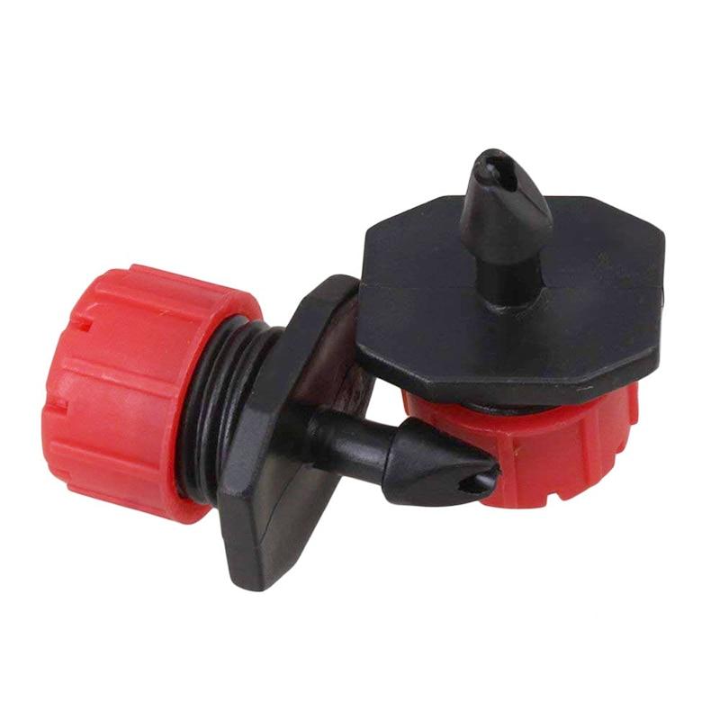 HTB1IOtjC29TBuNjy0Fcq6zeiFXa2 200Pcs Adjustable Micro Drip Irrigation System Watering Sprinklers Anti-clogging Emitter Dripper Red Garden Supplies
