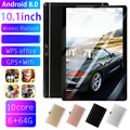 2019 neueste 10,1 zoll 4G LTE Tablet MT8752 Octa Core 6GB RAM 64GB ROM Dual SIM 5.0MP GPS Android 8.0 1280*800 IPS die tablet