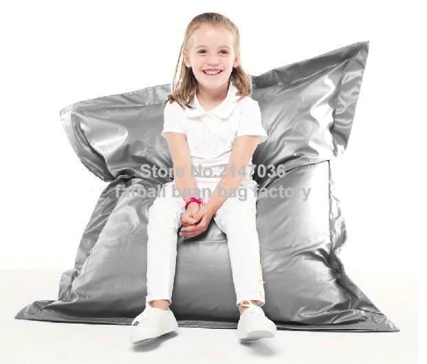 Enfants drôle sac de haricots chaise, salon enfants siège meubles de maison canapés, patio plage pouf chaises