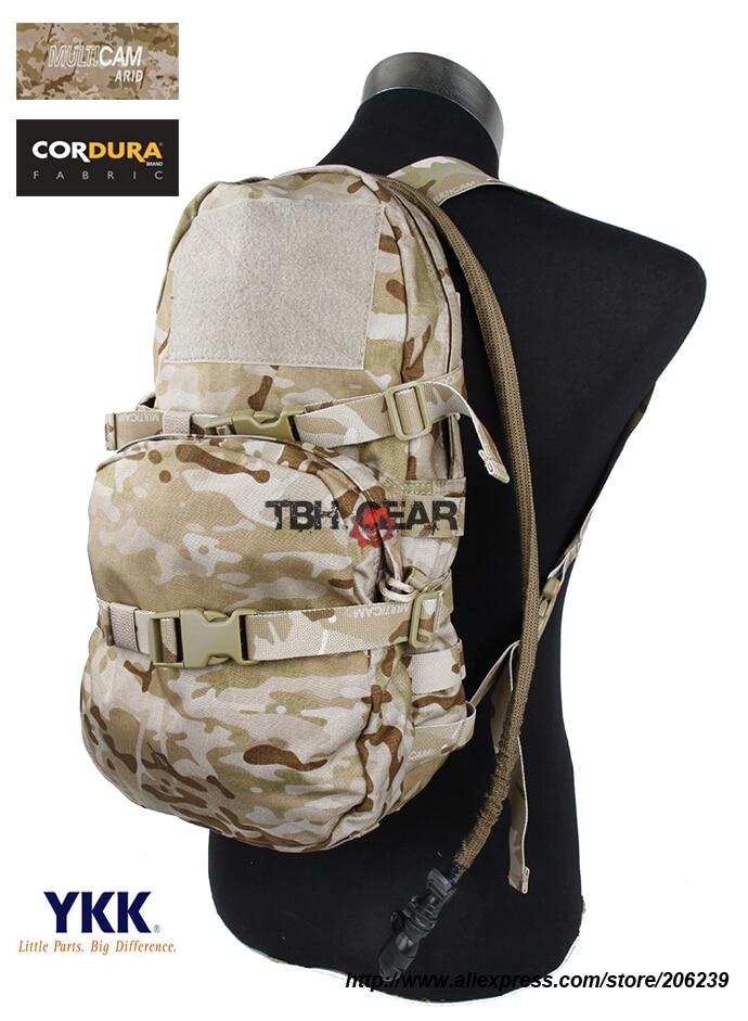 TMC Modular Assault Pack W/ 3L Water Bladder MOLLE Hydration Backpack Multicam Arid Bag+Free shipping(SKU12050784)
