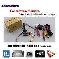 Liandlee Car Rearview Reversing Parking Camera For Mazda CX 7 CX7 CX 7 2007~2013 Display / Rear View Backup Back Camera