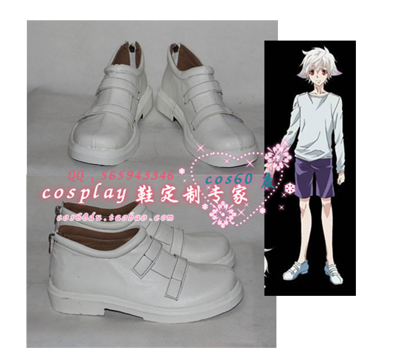 Karneval Nai Muhinyi White halloween party Cosplay shoes S008