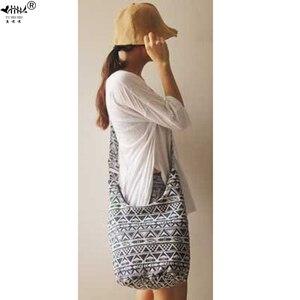 Image 1 - ヴィンテージ調節可能なストラップ女性のハンドバッグショルダークロスボディバッグ女性高品質旅行バッグヒッピーヒップスターボヘミアンバッグ