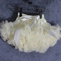 Ivory tutu skirt Baby girls tutu fluffy pettiskirts children dancing skirts kids chiffon skirts children tutus mother and daught