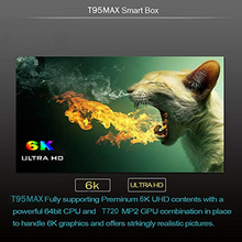 T95 max Android 9.0 TV Box 6K Ultra HD H6 quad core cortex-A53 4GB RAM 32GB ROM Smart TV box support 3D 2.4GHz WiFi HDMI 2.0 eleduino banana pi pro board 1gb ram cortex a7 dual core wifi hdmi input start kit