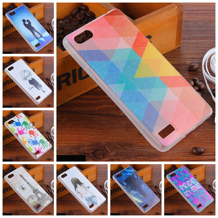 super popular 28747 c2a15 US $1.98 |Fashion Painted Patterns Soft TPU Silicone Back Cover Case for  Oppo A33 \ OPPO Neo 7 5.0 Phone Protective Cases +Lanyard-in Fitted Cases  ...
