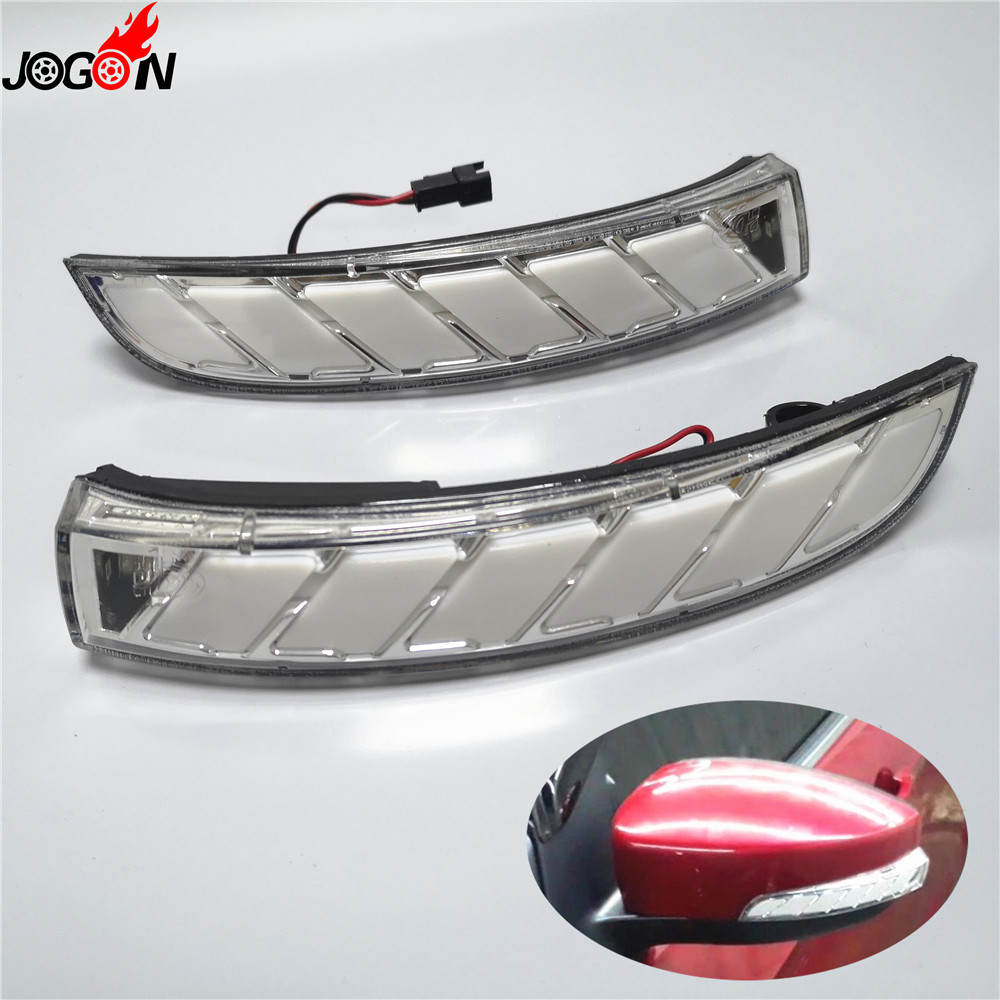 For Ford Kuga Escape EcoSport 2013 18 LED Dynamic Turn Signal Light Side Door Rearview Mirror