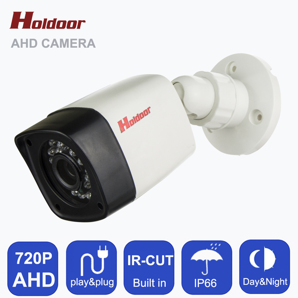 AHD CCTV Camera CMOS Sensor IR-Cut Filter AHD Camera 720P 1MP Indoor IP65 Waterproof Night Vision ABS Housing Security  Camera mdc3100lt b1 super night vison king exclusive 1 2 cmos mdc cctv camera with mscg glass original mdc camera without bracket