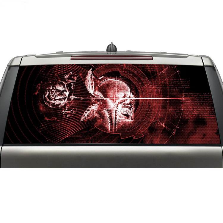 Online Buy Wholesale Rear Window Graphics Custom From China Rear - Truck decals for back window   online purchasing
