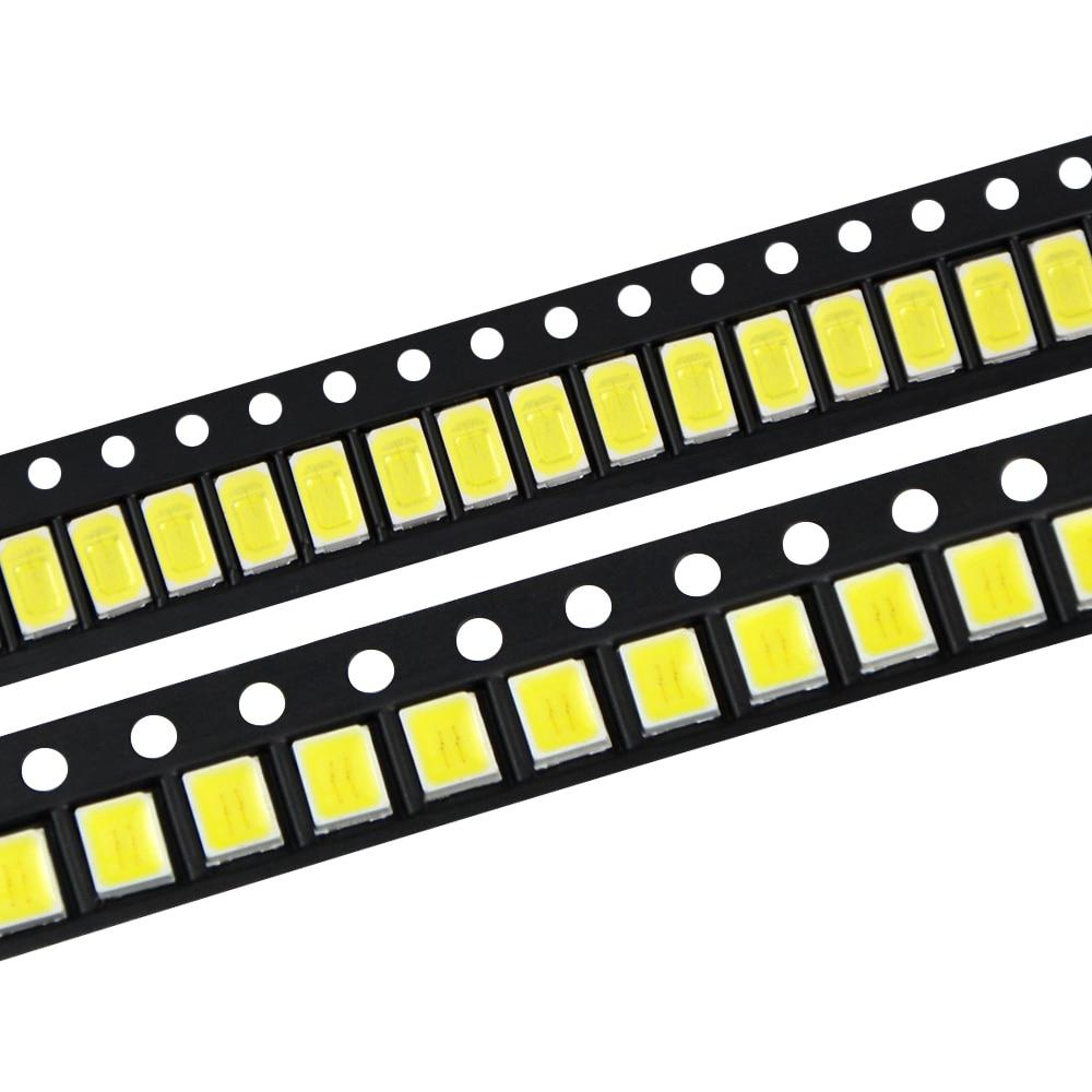 2835 5730 5050 Smd Led Bead Light 0.5w 40-45lm Emitting Diode Chip Dc3.0-3.6v For Led Corn Bulb, Strip Light,led Spotlight