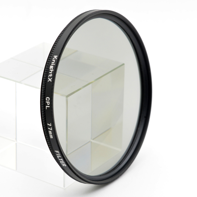 KnightX 49mm 52mm 55mm 58mm 67mm 77mm cpl Filter for Canon Nikon D5300 D5500 DSLR camera Lenses lens accessories d5100 d3300 CPL