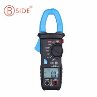 BSIDE Auto Range Digital Clamp Meter 6000 Counts DC/AC 600A 600V Resistance Capacitance Frequency Temperature NCV Multimeter