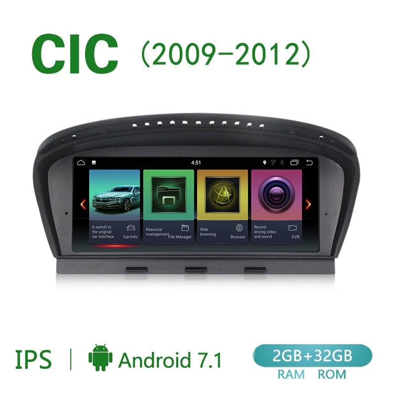 Android 7.1 PX3 2GB RAM 32GB ROM GPS USB SD WI-FI DAB OBD2 TMPS Bluetooth Navigationssystem kompatibel mit BMW Serie 3 E90 2005-2008 BMW 5er E60 E61 E63 E64 2005-2008 Original CCC System