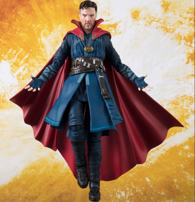 JHACG 15cm Doctor Strange Avengers Action figure toys doll Christmas gift with box elsadou neca chucky action figurs child s play doll with retail box 15cm