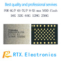 128 GB NAND IC para o iphone 6 6 S S plus 7G 7 Plus U1500 Hardsick Conduzir HHD Móvel circuitos de telefone repar Reprogramar NAND de Memória Flash IC
