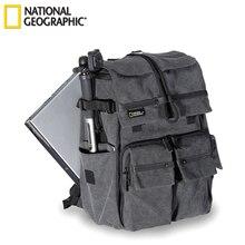 Mochila para portátil de 15,6 pulgadas, bolsa para cámara, hombro, al por mayor, National Geographic NG W5070