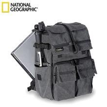 """חדש אמיתי נשיונל ג יאוגרפיק NG W5070 מצלמה Case תיק כתפי תיק תרמיל תרמיל יכול לשים 15.6 """"מחשב נייד חיצוני סיטונאי"""