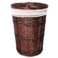 Wicker Rattan Hamper Hot Pot Shop Clothes Hotel Room Towel Bath Towel Woven Storage Basket