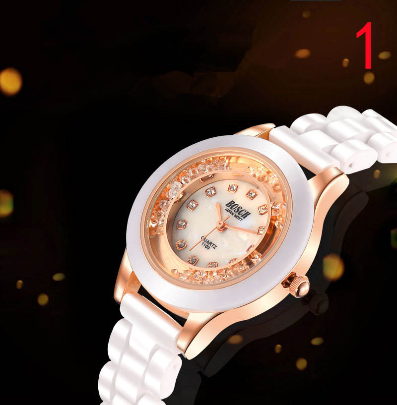 Watch fashion classic womens watch atmospheric ceramic watch waterproof quartz watch 212#Watch fashion classic womens watch atmospheric ceramic watch waterproof quartz watch 212#
