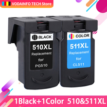 QSY RAINBOW Compatible Ink Cartridge Replacement for Canon PG-510 CL-511 PG510 CL511 PG 510 CL 511 Pixma MP240 250 MP260