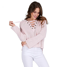 FREE SHIPPING Knitted Sweater Flare JKP964
