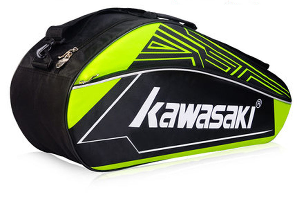 Kawasaki Badminton Bag Single Shoulder Bag 3 Badminton Rackets Tennis Racket Bag Badminton Racquet Bag Men Badminton Training