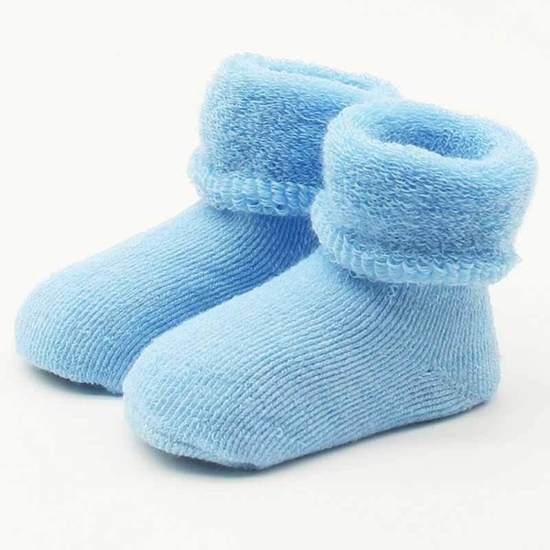 0-2 Y Baby Meisjes Jongens Pasgeboren Baby Winter Warme Laarzen Peuter Kinderen Zachte Katoenen Sokken Booties