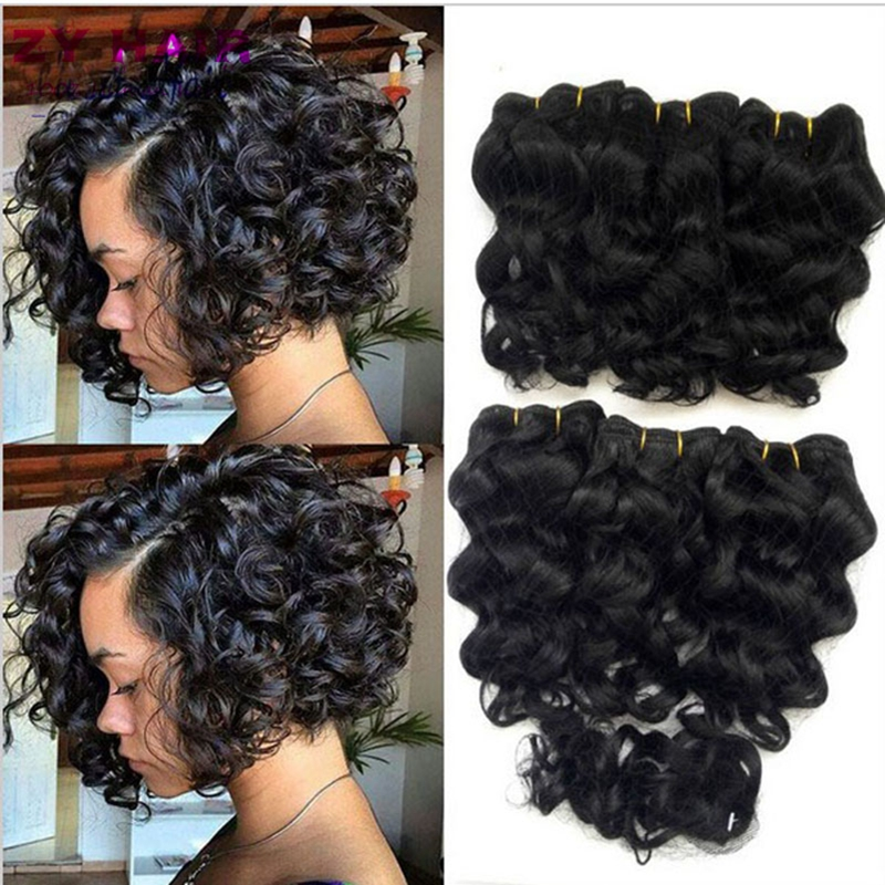 Pose Hair Weave Deep Wave Remy Indian Hair
