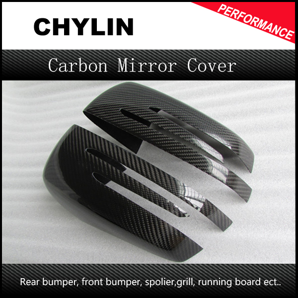 Carbon Fiber Add on style Mirror Cover For Benz A B C E S GLK GLS Class W176 W246 W204 W205 W207 W218 W212 W212 W222