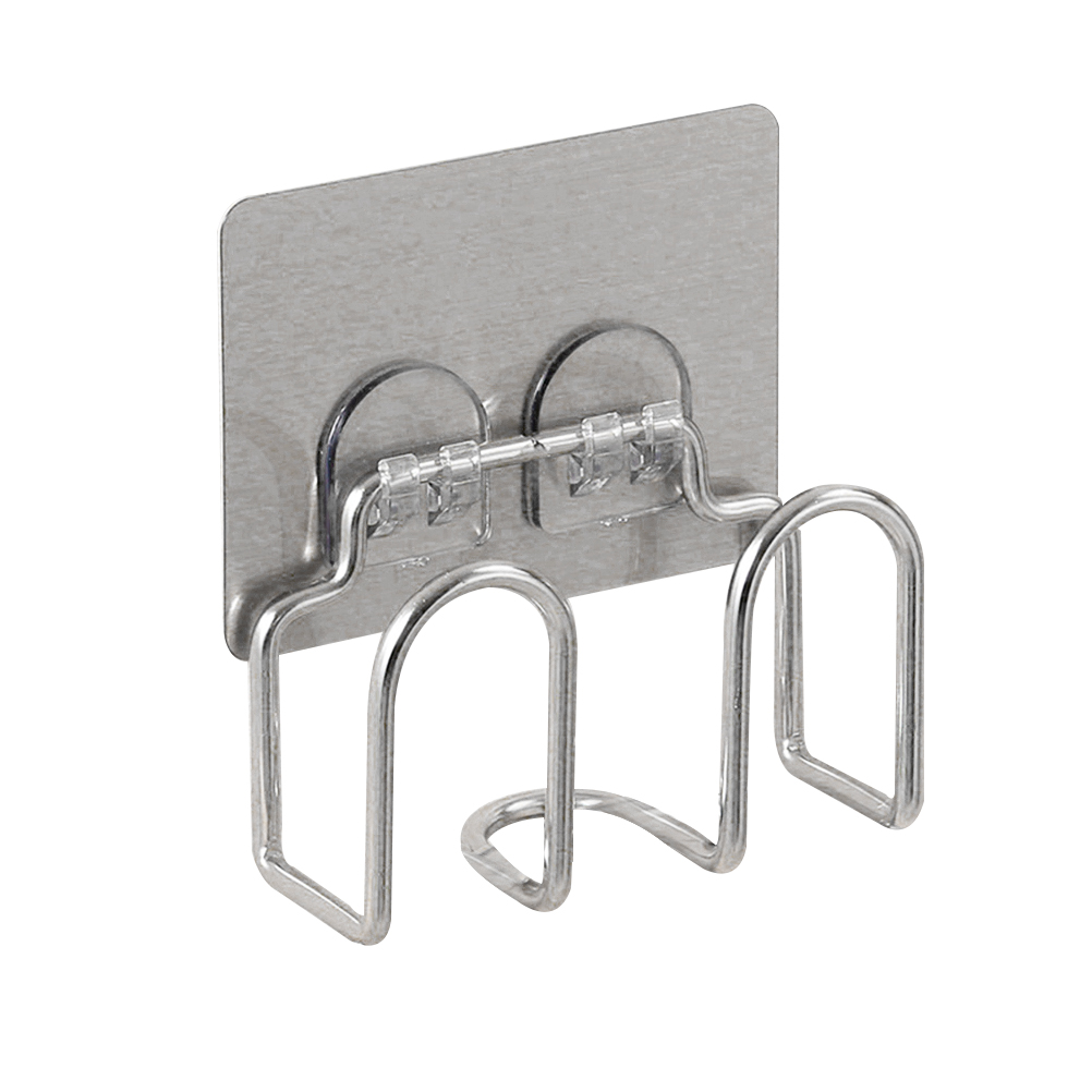 1PC Drain Hook Suction Cup Drain Rack Stainless Steel Cover Rack Holder Organizer for Restaurant Home Kitchen(China)