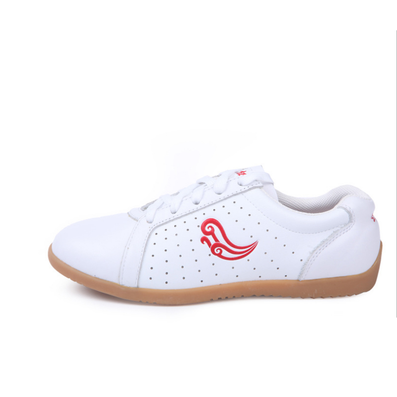 New Tai Chi Shoes Goosegrass Bottom Of Breathable Practise Wushu Shoes Fashion Leather Kung Fu Shoes Men Casual Shoes