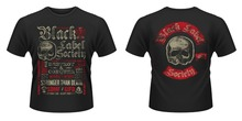 Buy Shirts Online Office Men O-Neck Short-Sleeve Black Label Society Destroy & Conquer Tee